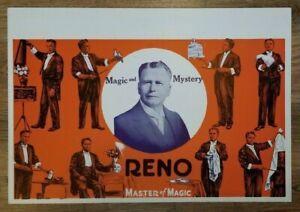 RENO MASTER OF MAGIC WINDOW CARD - Ed