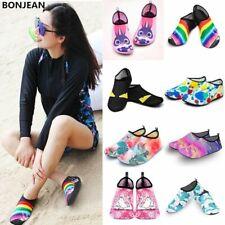 Men Women Water Shoes Swimming Socks Summer Aqua Beach Sneakers Seaside Slippers