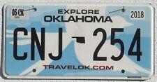 Oklanoma 2018 nuevos gráficos estados unidos coche matrícula license plate
