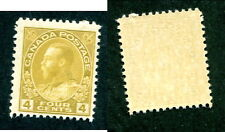 Mint Canada 4 Cent KGV Admiral Stamp #110 (Lot #10984)