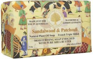 Wavertree & London Sandalwood & Patchouli Soap Bar 8 Oz