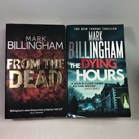 2 Mark Billingham Books Bundle - From The Dead, The Dying Hours