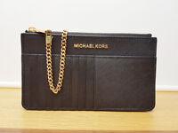 Genuine MICHAEL MICHAEL KORS Jet Set Travel Smartphone Card Purse Wallet