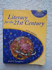 "A Paperback ""Literacy for the 21st Century"" with a CD~Gail E Tompkins~3rd ed."