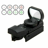 Green/Red Dot Reflex Sight Holographic Scope Tactical Rifle Mount 20mm Rails