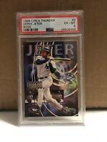 Derek Jeter 1998 Circa Thunder Boss PSA 6 EX-MT New York Yankees HOF