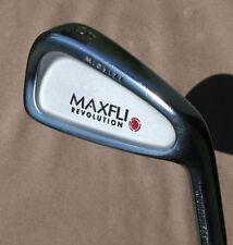 Forged Maxfli Revolution Midsize Multilayer 5 Iron Gold S300 Stiff Steel Shaft