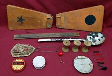 Ice and Fly Fishing Accessory Lot w/Two Unknowns