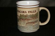 NIAGARA FALLS MUG HAS FALLS & MAID OF THE MIST ...RAISED DETAIL.