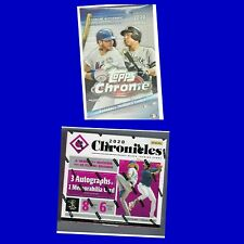 ATLANTA BRAVES 2020 TOPPS CHROME & 2020 CHRONICLES HOBBY BOX BREAK
