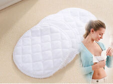 12x Almohadillas de Lactancia Lavable Reutilizable bebé algodón enfermería sujetador Maternidad Reino Unido