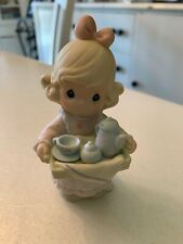 "Vintage 1998 Enesco Precious Moments ""Mom, You're My Special Tea"" #325473"
