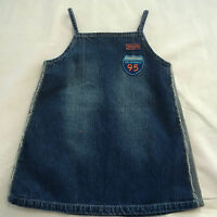 'BEBE BUSHH'  GIRLS DENIM PINI / DRESS, SIZE 2 YRS, EXCELLENT CONDITION