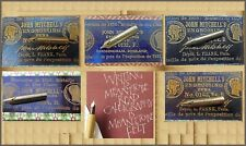 PROMOTION: 12 vintage John Mitchell's Engrossing Pens 0131/0132/0133/0134/0135