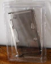 Etui, housse / coque de protection rigide transparente pour Nintendo 3DS grise