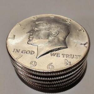 [Lot of 5] 1964 Kennedy Half Dollar 90% Silver