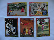 1994 Mighty Morphin Power Rangers ser.2 foil cards you pick #90-120-121-124&134