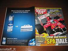 AUTOSPRINT 2010/34=RALLY GERMANIA=LOEB=NOVITA' BMW X3=PUBBLICITA' GILETTE=