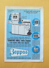 D300 - Advertising Pubblicità - 1959 - ZOPPAS CUCINA COMFORT GRILL