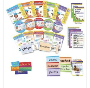 Brand New  in FRENCH Your Baby Can Read / Early Learning FULL SET. RRP £110