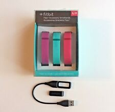 Fitbit Vibrant Bands + Fitbit Flex Wireless Activity/Sleep Tracker w/ Charger