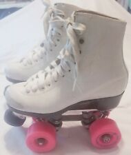 Riedell Gold Star Roller Skate size 1.5 Snyder Plates & Stops Rollerbones Wheels