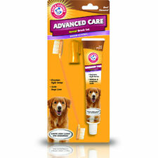 Dog Toothpaste and Toothbrush Dental Care Arm and Hammer Fresh Smelling Breath