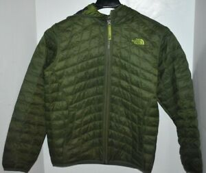 The North Face Boy's Reversible Jacket Black Large (14/16) Primaloft