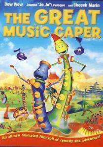 The Great Music Caper - DVD - KIDS ANIMATION MOVIE 2008 - Starring Jo Jo Levesqu