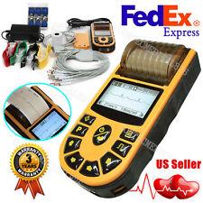 US Digital single channel 12-lead ECG/EKG machine Electrocardiograph Printer USB
