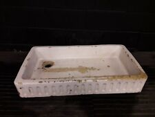 Vintage antique butlers Belfast farm house kitchen sink. Very old and very worn