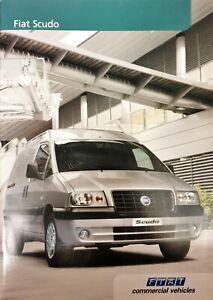 Fiat Scudo Brochure 2004