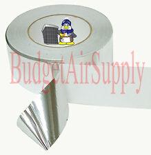 """Aluminum Foil tape 60YDS EMI,Heat shield,screen print 2.5 """"w x 60YD x 20 micron"""