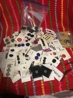 Vintage Buttons Sewing Crafts  La Mode Le Bouton Old Stock Lot
