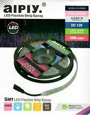 5M 3528 300SMD 6500k LED Flexible Strip Epoxy Lights IP65 Long Life Span 30000hr