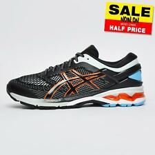 Asics Gel Kayano 26 Men's Premium Running Shoes Gym Trainers Black New 2020