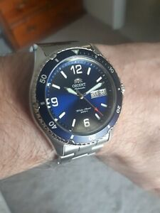 Orient FAA02002D9 Mako II Men's  Stainless Steel Automatic Diving Watch
