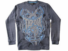 Tapout Men's Print Long Sleeve Shirt Size L T-Shirt Mixed Martial Arts MMA NEW