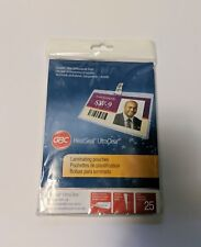 Gbc Heatseal Ultraclear Thermal Laminating Pouches 5mil Pack Of 25