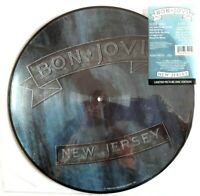 NEW! BON JOVI NEW JERSEY VINYL LP PICTURE PIC DISC 1988