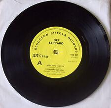 "DEF LEPPARD ROCKS OFF EP RIDE INTO THE SUN OVERTURE BLUDGEON MSB 001 7"" VINYL"