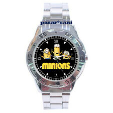 NEW MINIONS DESPICABLE ME Custom Men Wrist Watch Mens Watches Men's Clock Gift