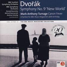 DVORAK: SYMPHONY NO 9: NEW WORLD / RUNNICLES + TURNAGE: CANON FEVER ETC - BBC CD