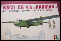 Italeri Italaerei 1/72 WWII U.S. WACO CG-44A HADRIAN ASSAULT GILDER Model Kit