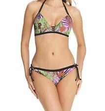 Freya Lost in Paradise Soft Triangle Halter Bikini Top Pink 4031 Freya Swimwear 34 DD