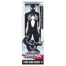 Marvel Ultimate Spider-Man Titan Hero Series Black Suit Spider-Man Figure - 30cm