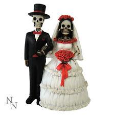 Hochzeitspaar Gothic Brautpaar Hochzeit Tortenfigur Deko Figur Hochzeitsfigur