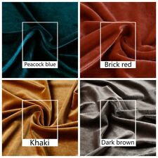 Thick Velvet Fabric for Dress Cloth Upholstery Background DIY Cushion By Meters