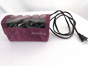Remington 10 Hot Rollers Travel Instant Heat Pageant Travel Cruise NO CLIPS