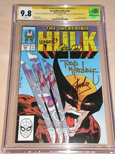 Incredible Hulk 340 CGC 9.8 SS signed Stan Lee Todd McFarlane Peter Len Wein Lou